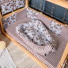 Матрасик-топпер «Еноты», размер 72×100 см, бязь/синтепух - фото 105558988
