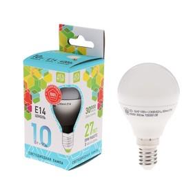 LED lamp ASD LED-BALL-standard, E14, 10 W, 230 V, 4000 K, 900 Lm