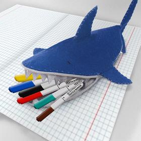 Набор для создания пенала из фетра «Акула»