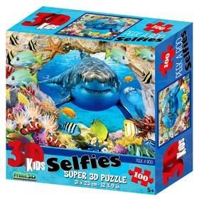 """3D Puzzle 100 items, """"let's Play hide and seek?"""""""