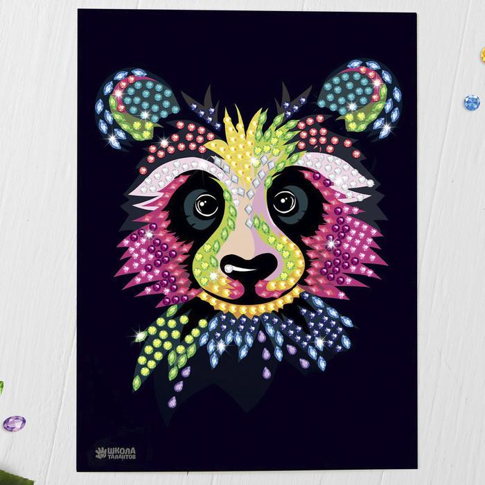 "Мозаика стразами ""Панда"""