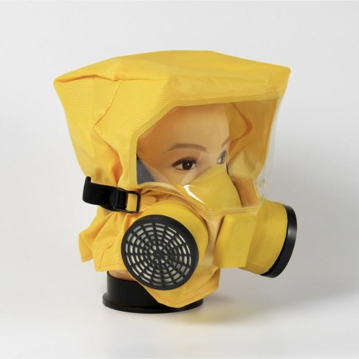 Универсальный фильтрующий малогабаритный самоспасатель ШАНС-Е полумаска