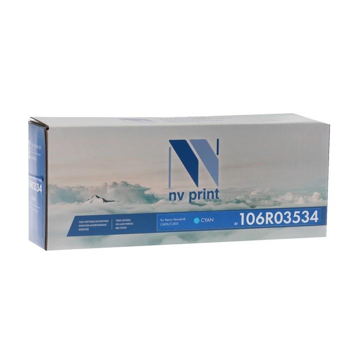 Картридж NV PRINT NV-106R03534 Cyan для Xerox VersaLink C400/C405 (8000k), голубой
