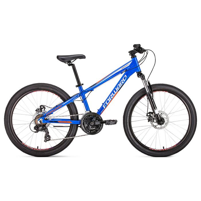 "Велосипед 24"" Forward Twister 2.0 disc, 2019, цвет cиний, размер 13"""