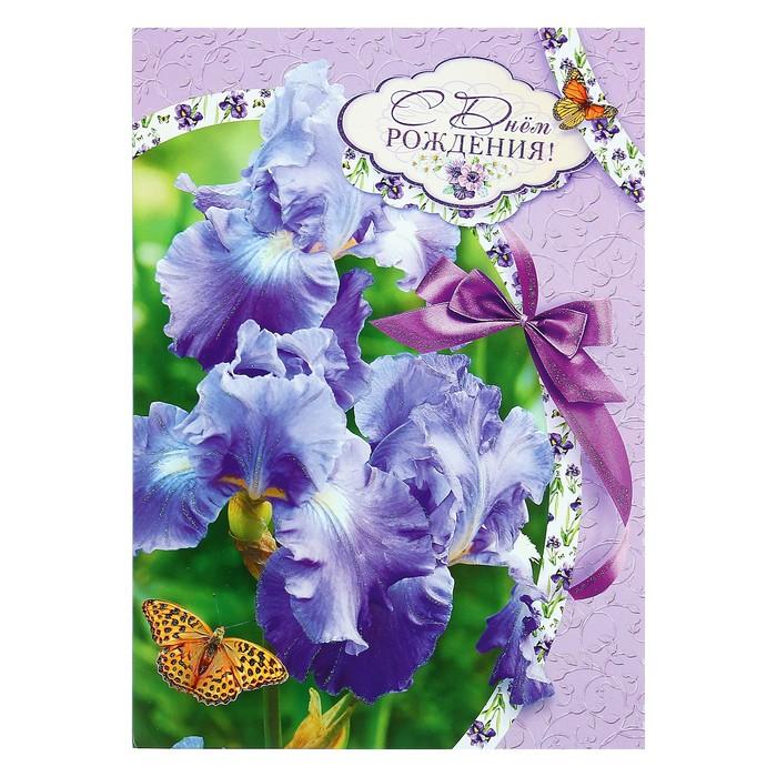 Прищепками для, открытки с днем рождения женщине красивые с ирисами