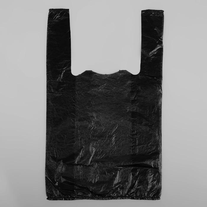 """Пакет """"Супер"""", полиэтиленовый, майка, 25 х 45 см, 10 мкм - фото 308983356"""