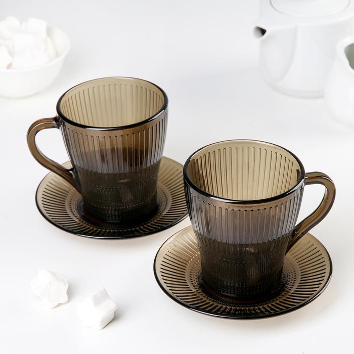"""Набор чайный """"Луиз. Эклипс"""", 4 предмета"""