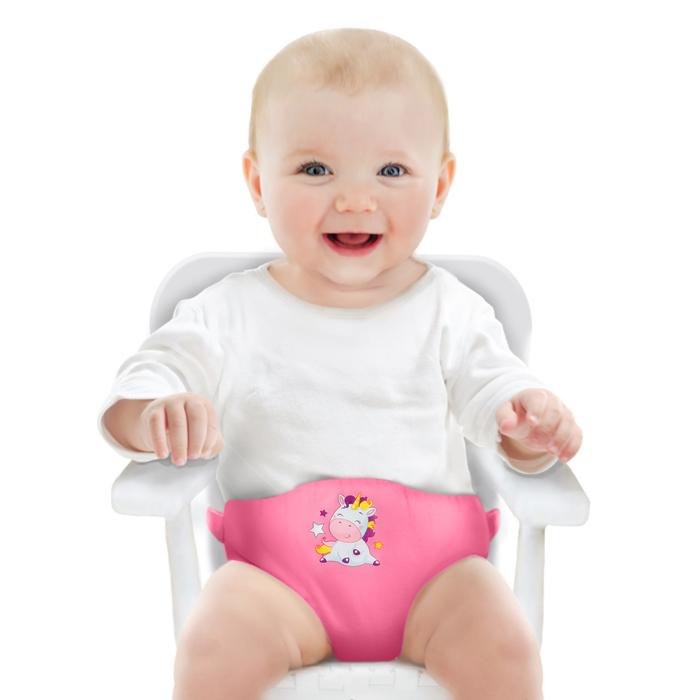 Детский пояс-фиксатор «Любимая Дочка», регулируемые ремни, цвет розовый