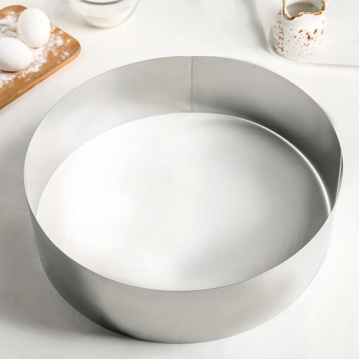 Форма для выкладки и выпечки, d=35 см, h=10 см