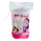 Ватные диски Premial Маша и Медведь для детской гигиены овальные, 40 шт в упаковке