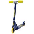 Самокат складной GRAFFITI, колёса PVC d=100 мм, цвет синий