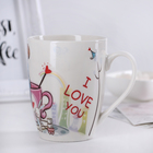 "Mug ""Cupid"" 350 ml, 11,5х8х11 cm"