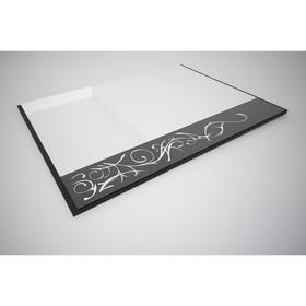 Зеркало с рисунком Антарес EVO №5 750х20х992 Венге/дуб беленый Ош