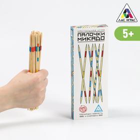 Настольная игра «Палочки Микадо», 31 деревянная палочка