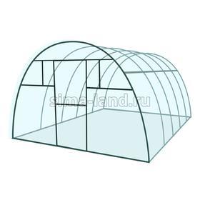 Каркас теплицы «Комфорт», 4 × 3 × 2,1 м, металл, профиль 20 × 20 мм, шаг дуг 65 см, 1 мм, без поликарбоната Ош