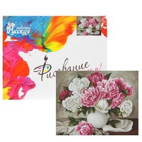 Картина по номерам «Пионы. Жанна Когай» 40 × 50 см, 24 цвета