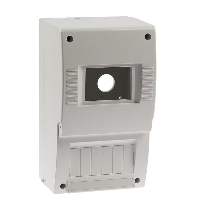Щит квартирный TDM ЩК 26-003, 2-6 модулей, IP20, DIN-рейка, без дверки