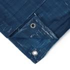 Тент защитный, 6 × 5 м, плотность 60 г/м², голубой