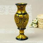 """Vase """"East"""", medium, 11×35 cm, Khokhloma"""