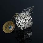 Кольцо для салфеток «Бабочка», 5×6×6 см, с кристаллами Сваровски