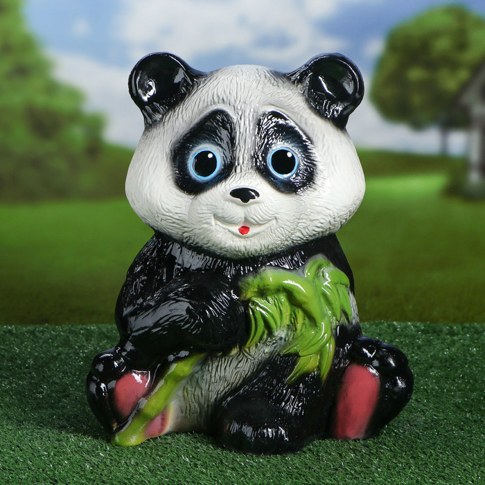 """Сувенир садовый """"Панда"""" глянец, 34 см"""