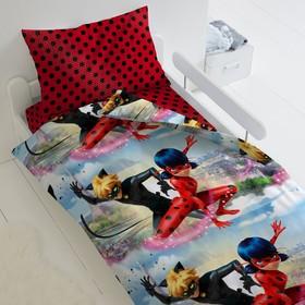 Постельное бельё 1,5 сп LadyBug «Леди Баг и Супер Кот»