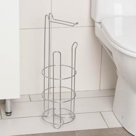 Holder stand for toilet paper 18,5х16х50 cm