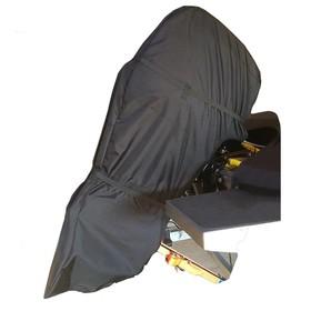 Чехол лодочного мотора навесной, SUZUKI 25 двухтактный, черный