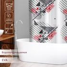 """Штора для ванной 180×180 см """"Малевич"""", EVA"""