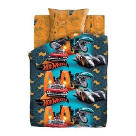 Постельное бельё 1,5 сп Hot Wheels «Опасные гонки»