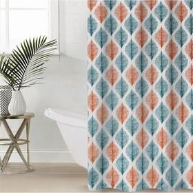 Штора для ванной комнаты Доляна «Гармония», 180×180 см, EVA