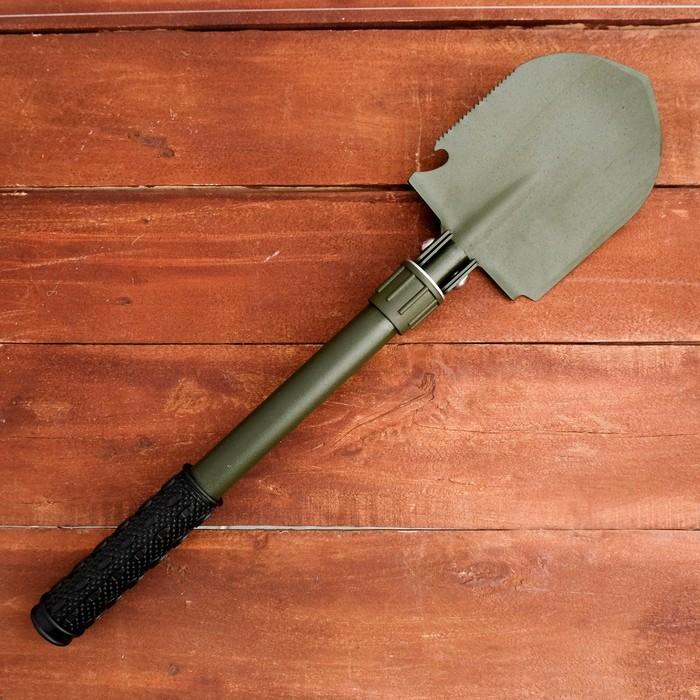 Лопата складная 45 см сталь 50, чехол