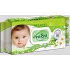 Влажные очищающие салфетки FreshLand детские с пластиковым клапаном, 120 шт