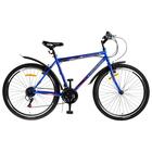 """Велосипед 26"""" Progress модель Crank RUS, 2019, цвет синий, размер 17"""""""