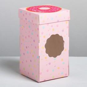 Коробка под капкейк «Сладости», 9 × 17 × 9 см
