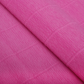 Бумага гофрированная 950 пастельно-розовая, 50 см х 2,5 м