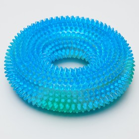 """Toy shining """"chew ring"""", TPR, mix colors"""