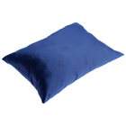 The seat (cushion) soft blue color
