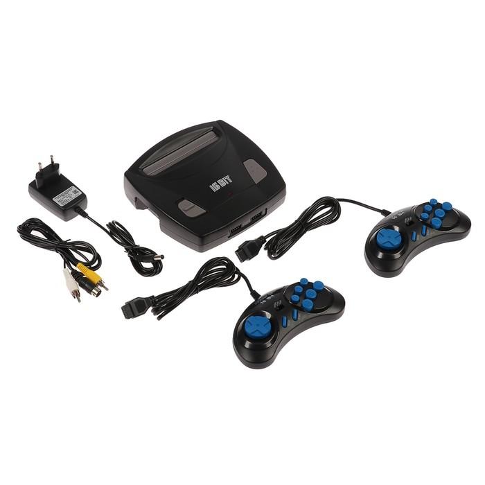 Игровая приставка Sega Magistr Drive 2 lit, 16-bit, 98 игр, геймпад - 2 шт