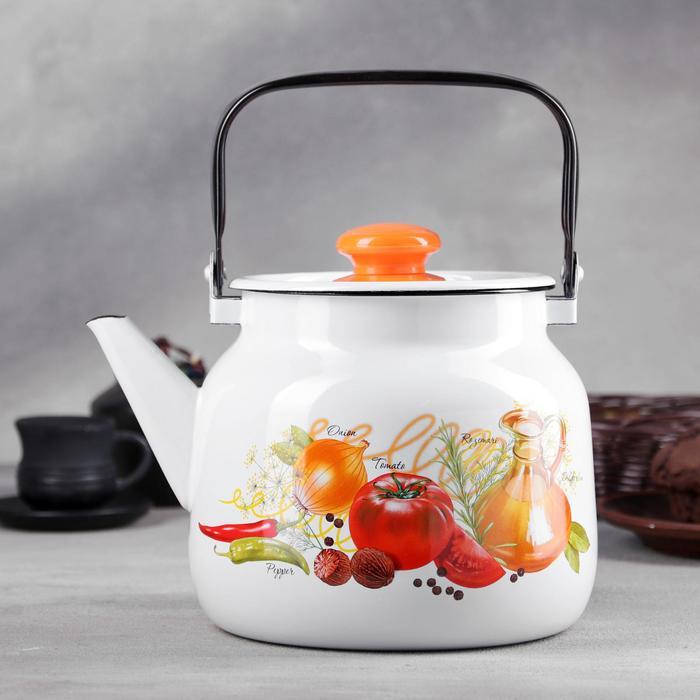 Чайник «Ласковый май», 3,5 л, деколь МИКС - фото 798191225
