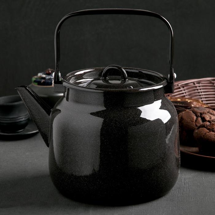 Чайник 3,5 л, без деколи, цвет МИКС