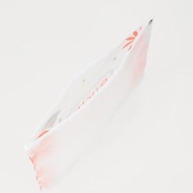 Косметичка для купальника, отдел на молнии, цвет белый / розовый - фото 1769927