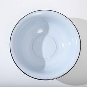 Таз 9 л, без деколи, цвет МИКС - фото 1938962