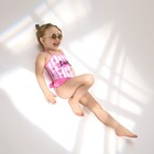 Купальник KAFTAN Lady, рост 98–104 (30), розовый - фото 105468149