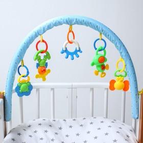 Arc soft games on the stroller/crib Elephant