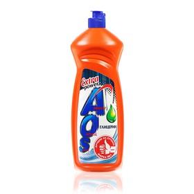 Средство для мытья посуды AOS Глицерин, 900 мл - фото 4667302