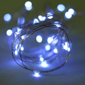 Led strip light for balloon, 2 meters, battery, color white