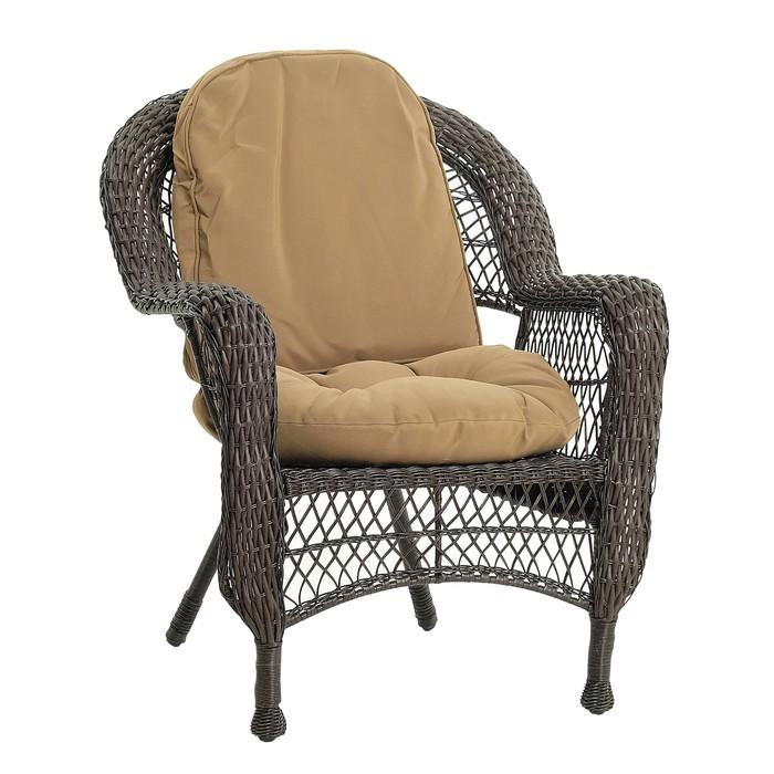 Кресло LV520BB  Вrown/Beige 75 x 76 x 92 см