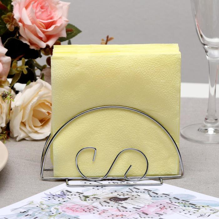 Салфетки бумажные лимонные Big Pack, 24*24 см, 350 шт.