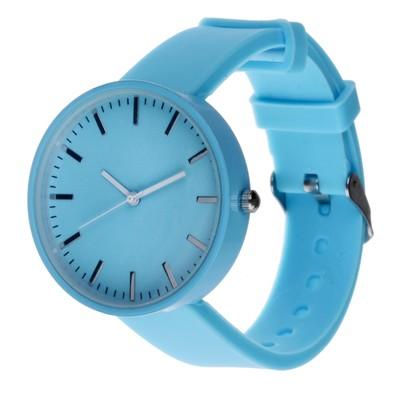 Часы наручные, d=4см синие, ремешок 16мм